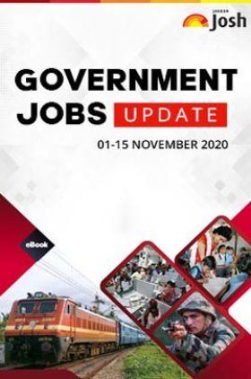 Employment News 01-15 November 2020