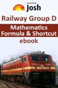 Railway Group D Mathematics Formula And Shortcut  E-Book