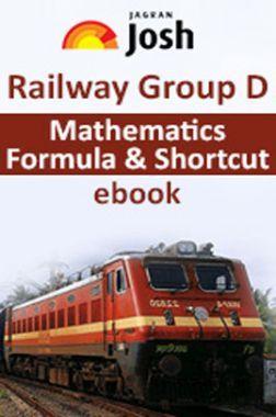 Railway Group D Mathematics Formula And Shortcut  E-Book