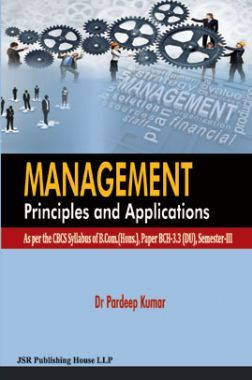 Management Principles And Applications