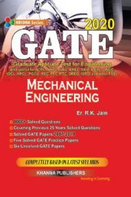 GATE Mechanical Engineering 2020