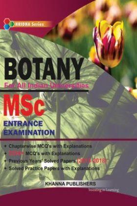 M.Sc Entrance Examination (Botany)