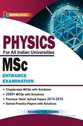 M.Sc Entrance Examination (Physics)