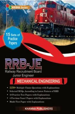 RRB-JE Mechanical Engineering (Railway Recruitment Board)