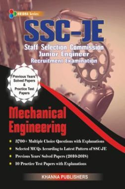 SSC JE Mechanical Engineering