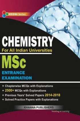 M.Sc Entrance Examination (Chemistry)