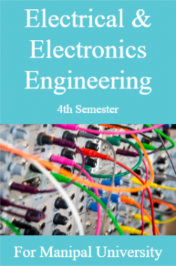 Electrical & Electronics Engineering 4th For Manipal University