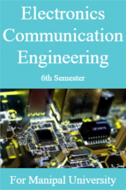 Electronics  Communication Engineering 6th For Manipal University