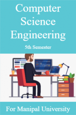 Computer Science Engineering 5th For Manipal University
