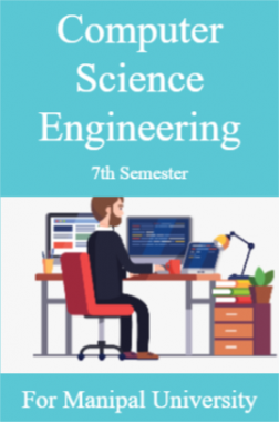 Computer Science Engineering 7th For Manipal University
