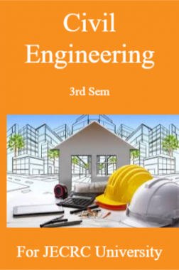 Civil Engineering 3rd Sem For JECRC University