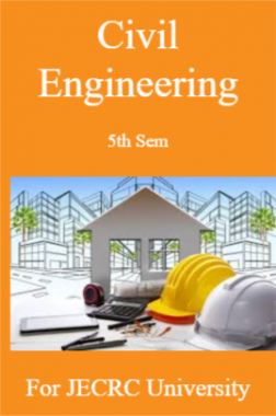Civil Engineering 5th Sem For JECRC University