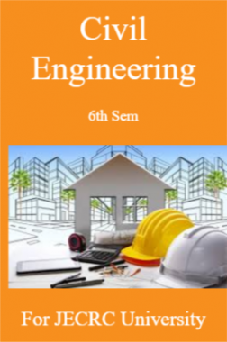 Civil Engineering 6th Sem For JECRC University