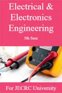 Electrical & Electronics Engineering 5th Sem For JECRC University