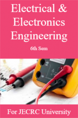 Electrical & Electronics Engineering 6th Sem For JECRC University