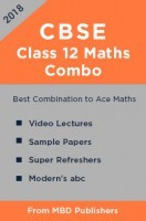 CBSE Class 12 Maths: Combo of MBD Video Lectures, Sample Papers, Super Refreshers And Modern's abc