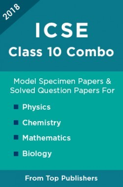 ICSE Class 10: Combo Of Oswal ICSE Model Specimen Papers and Solved Question Papers For Physics, Chemistry, Mathematics & Biology