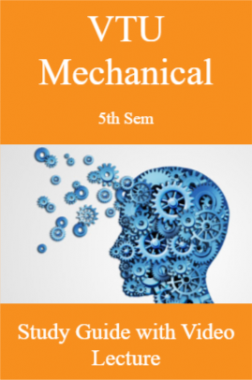 VTU Mechanical 5th Sem Study Guide with Video Lecture