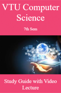VTU CS 7th Sem Study Guide with Video Lecture