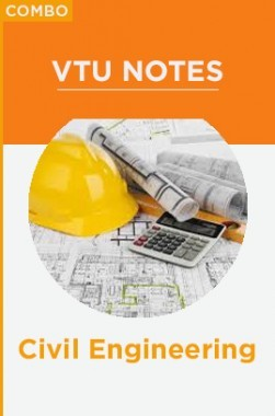 Combo:  VTU Notes For Civil Engineering