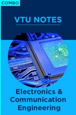 Combo:  VTU Notes For Electronics And Communication Engineering