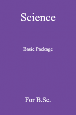 Science Basic Package For B.sc