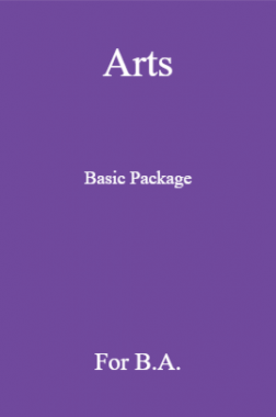 Arts Basic Package For B.A
