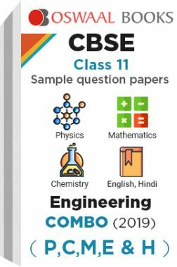 Oswaal CBSE Sample Question Papers Class 11 Engineering Combo (P,C,M,E & H)