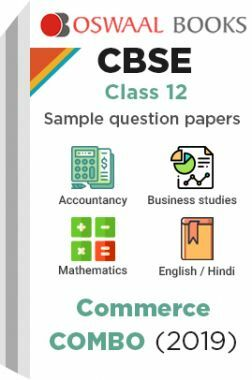 Oswaal CBSE Sample Question Papers Class 12 Commerce Combo
