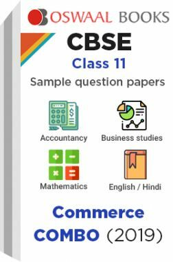 Oswaal CBSE Sample Question Papers Class 11 Commerce Combo