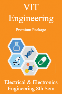 VIT Engineering Premium Package Electrical & Electronics Engineering 8th Sem