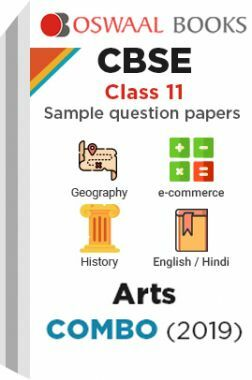 Oswaal CBSE Sample Question Papers Class 11 Arts Combo