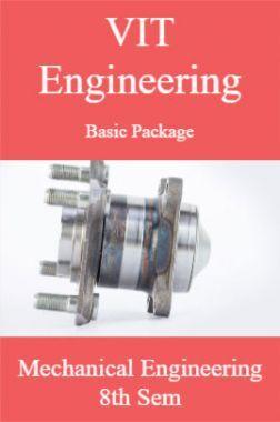 VIT Engineering Basic Package Mechanical Engineering 8th Sem