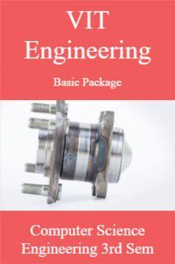 VIT Engineering Basic Package Computer Science Engineering 3rd Sem