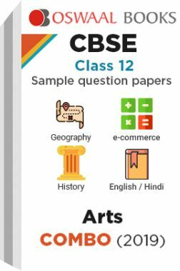 Oswaal CBSE Sample Question Papers Class 12 Arts Combo