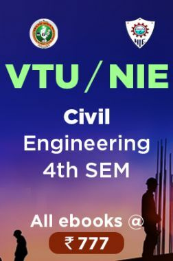 VTU / NIE Civil Engineering 4th Sem Combo