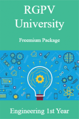 RGPV Freemium Package Engineering Ist Year
