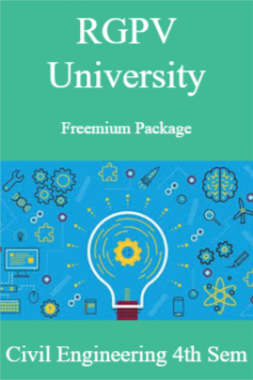 RGPV Freemium Package Civil Engineering IV SEM