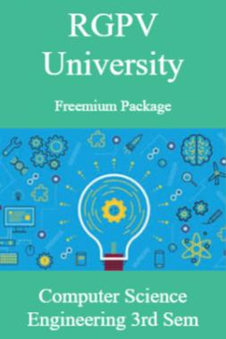 RGPV Freemium Package Computer Science III SEM