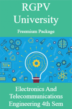 RGPV Freemium Package Electronics and Telecommunications Engineering IV SEM