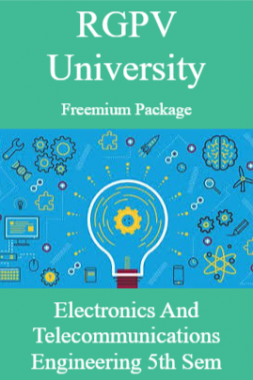 RGPV Freemium Package Electronics and Telecommunications Engineering V SEM