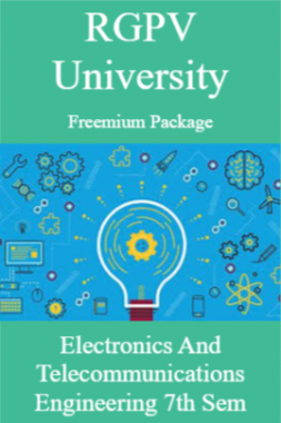 RGPV Freemium Package Electronics and Telecommunications Engineering VII SEM