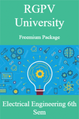 RGPV Freemium Package Electrical Engineering VI SEM