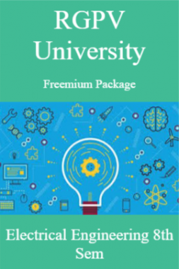RGPV Freemium Package Electrical Engineering VIII SEM
