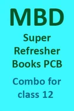 MBD Super Refresher Books PCB Combo For Class 12