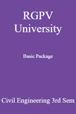 RGPV University Basic Package Civil Engineering 3rd Sem