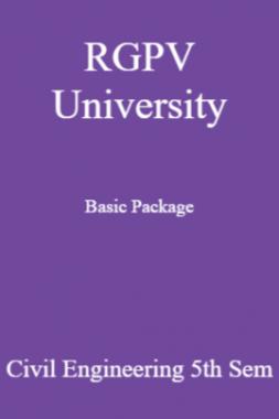 RGPV University Basic Package Civil Engineering 5th Sem