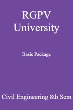 RGPV University Basic Package Civil Engineering 8th Sem
