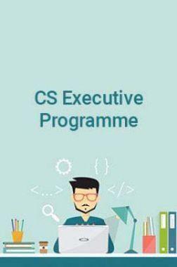 CS Executive Programme