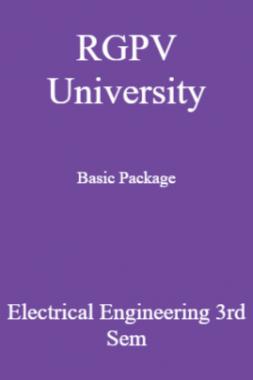 RGPV University Basic Package Electrical Engineering 3rd Sem